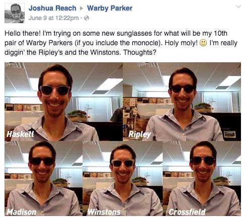 משקפי Warby Parker