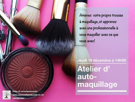 atelier auto-maquillage