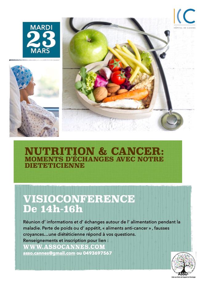 visioconference nutrition et cancer