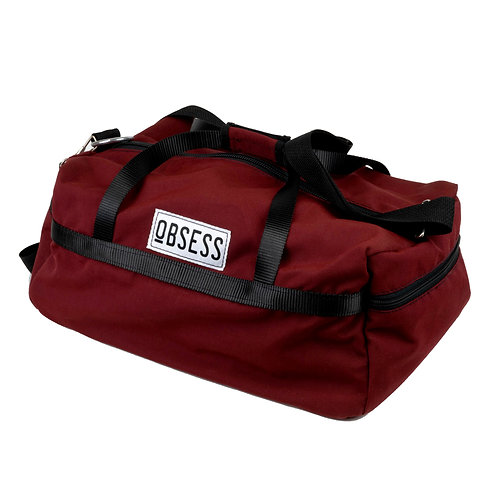 Burgundy Duffel Bag