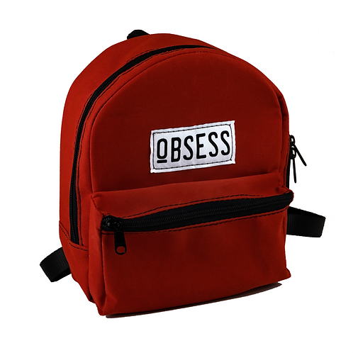 Rust Orange Mini Backpack