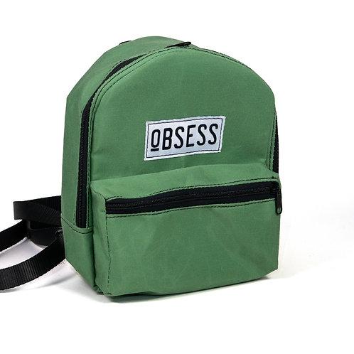 Basil Green Mini Backpack