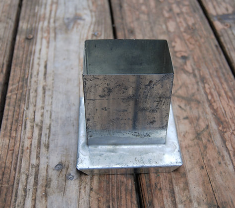 Rectangle Candle Mold (2 x 3 x 3.5)