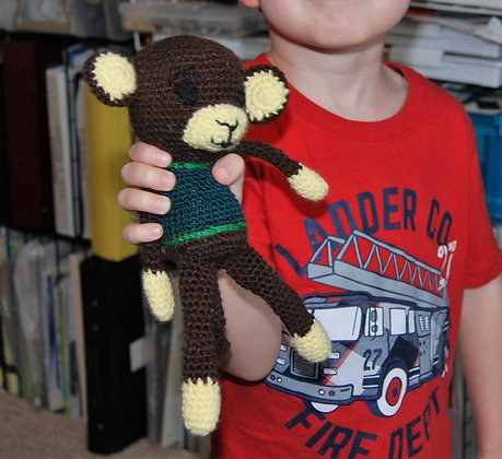 Crochet Monkey Stuffie