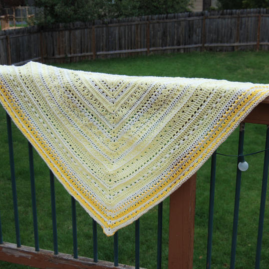 Taste of Honey Shawl
