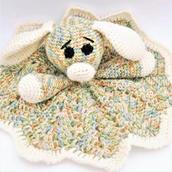 Crochet dog lovey