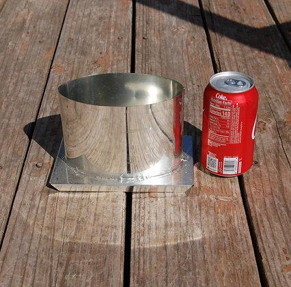 Oval Pillar Candle Mold