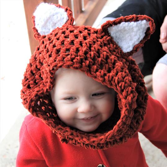 kids hooded cowl
