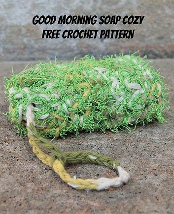 Crochet Soap Cozy Free pattern