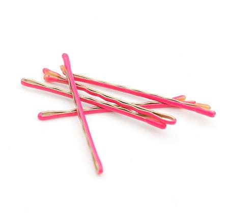 Hot Pink Bobby Pins
