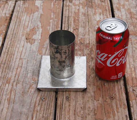 """Small Candle Mold (2"""" x 3.5"""")"""