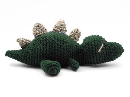 Crochet Dino pattern info