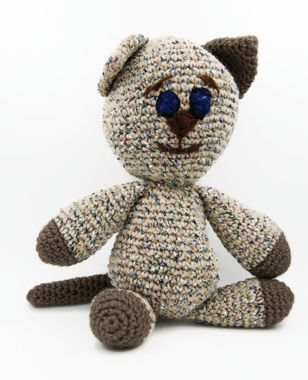 Liz the cat crochet cat by brittique