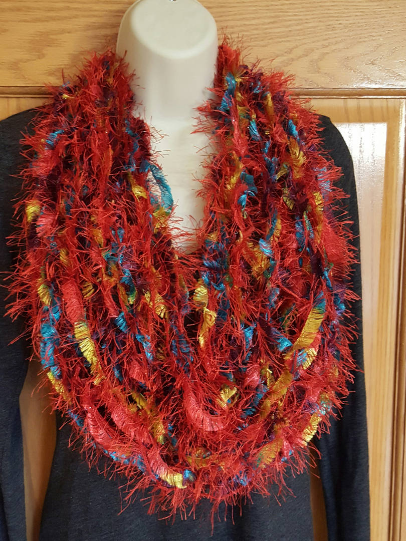 red rainbow eyelash yarn scarf (9).jpg