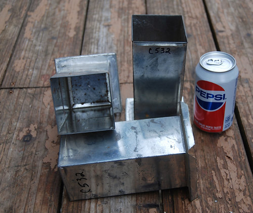 Square Pillar Candle Mold (3 x 3 x 6.5)