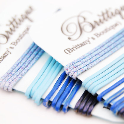 Blue Bobby Pins Variety Pack