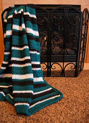 Turn Your Mind Off Crochet Blanket