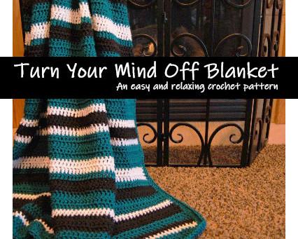 Turn Off Your Mind Blanket (Free Crochet Pattern)