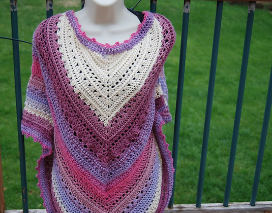 Taste of Honey Shawl Crochet Pattern