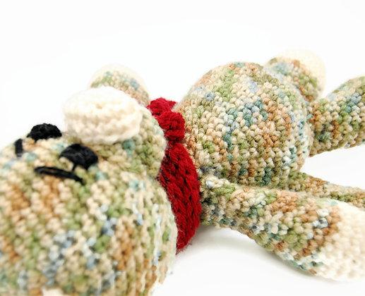 Crochet dog stuffed animal