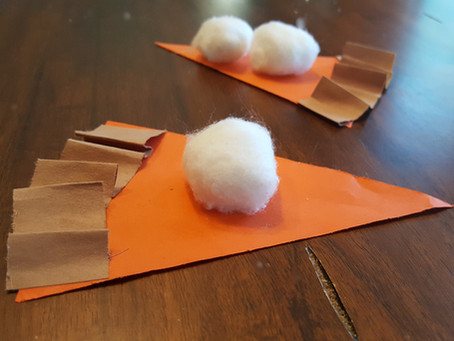 Paper Pumpkin Pie Project