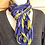 Thumbnail: Blue and green braided cowl