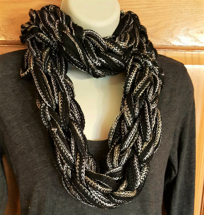 red heart sashay yarn black scarf.png