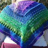Dreamer shawl back