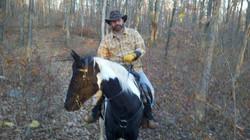 Bob & Phoenix on trail