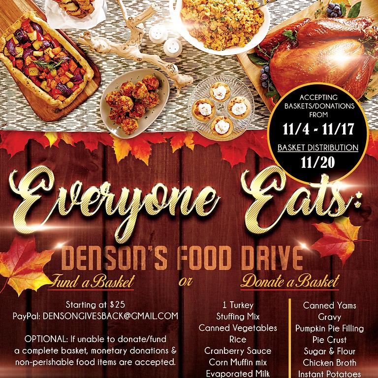 Denson's Food Drive