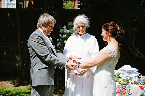 Bespoke wedding ceremony in Brighton conducted by Inner Radiance Ceremonies
