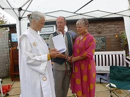 Inner Radiance Ceremonies Vow renewal