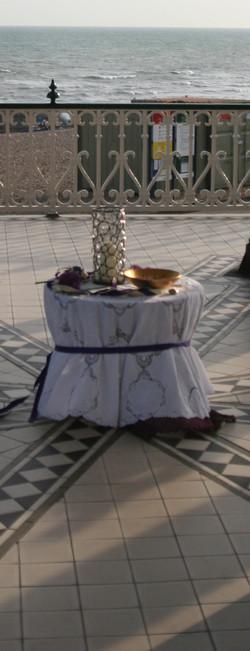 altar bandstand