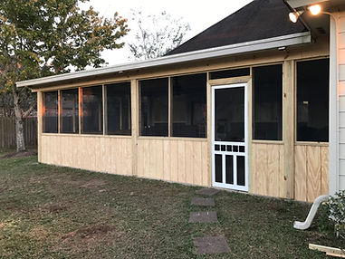 Home Addition done by Little Bit Home Repair, L.L.C.