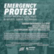 ichrp nov 3 emergency protest.jpg