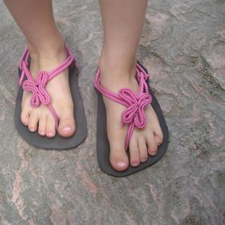 Sandály Huarache ozdobné