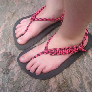 sandály Huarache řetízek