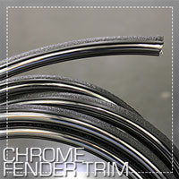 Chrome Fender Trim