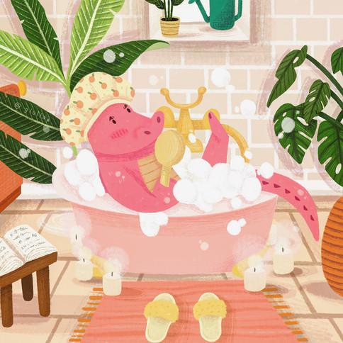 Giovanni The Pink Alligator