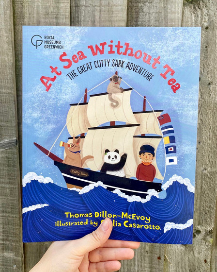 At Sea Without Tea: The Great Cutty Sark Adventure