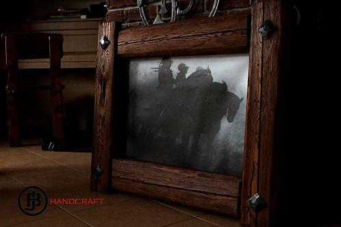 Obraz -masivní rám / painting - massive frame