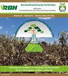 Revista brasileira de herbicidas