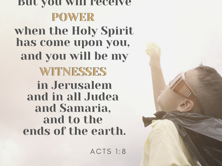 Bring the Word to LIFE - Acts 1:8