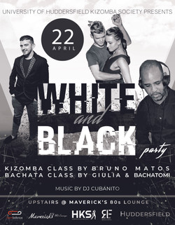 BRUNO-White And Black party