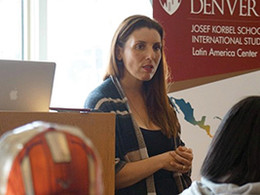 NPR's Lourdes Garcia-Navarro visits DU, talks of trust, accountability, need to bear witness
