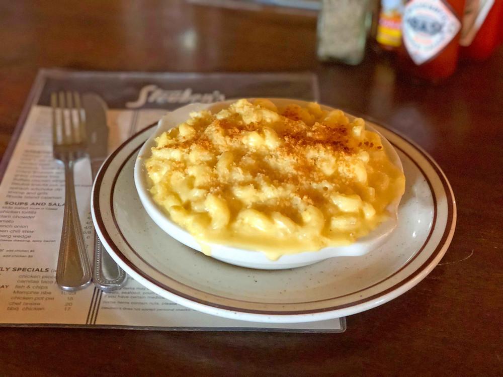 """Steuben's """"macaroni & cheese"""""""