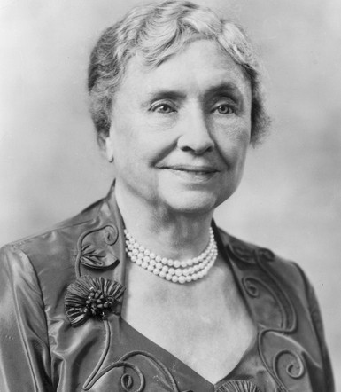 This was the day that Helen Keller made her breakthrough