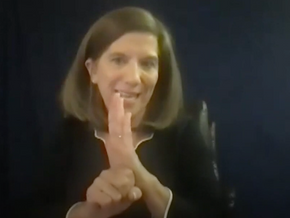 Deaf Center gets its first deaf woman to lead