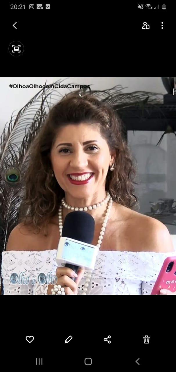 Olho a Olho com Cida Campos