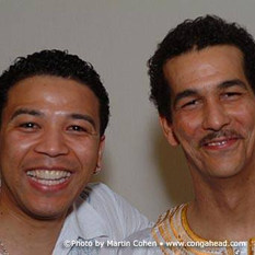 Luisito Quintero and I after our show at SGI Center in New York City